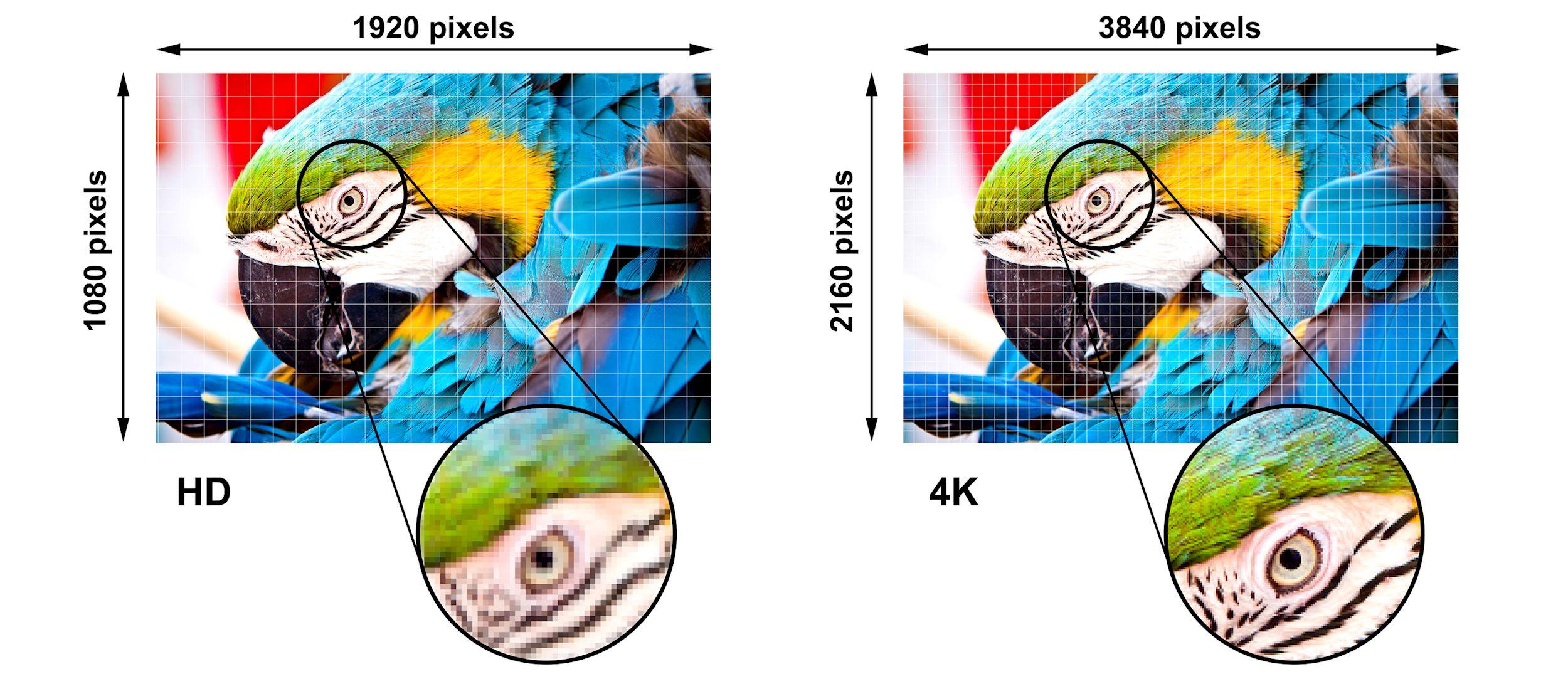 Resolución Ultra HD 4K