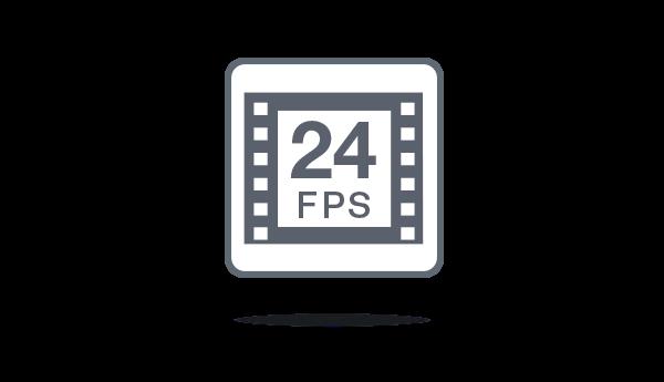 los proyectores Optoma aceptan fuentes de alta definición a 24 fps.